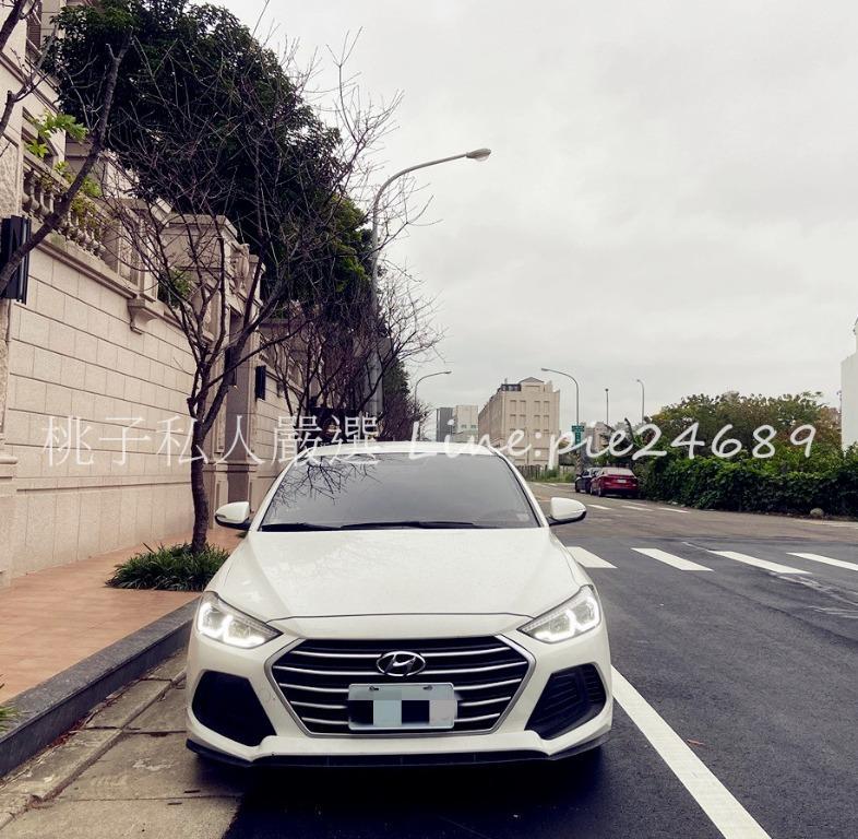 2018年 Elantra 1.6 白 / 一手車 車況好 內外漂亮👍