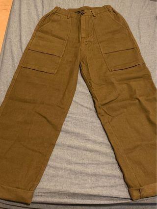 Plain-me 工裝寬褲
