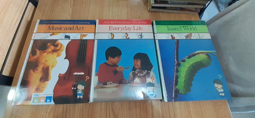 A Child's First Library of Learning (Set of 18 hard cover books)