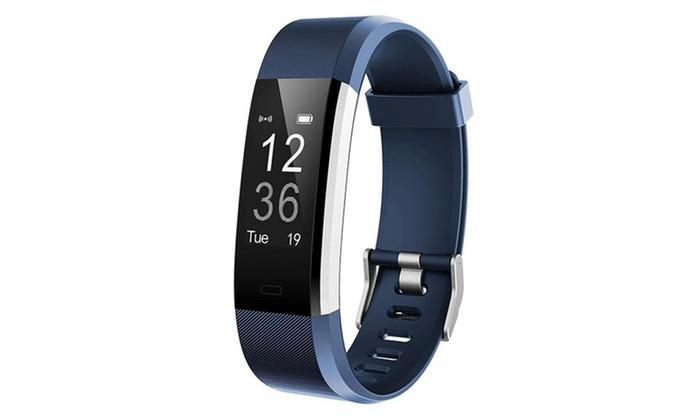 ActivePro Touch Screen Fitness Tracker With Heart Rate Monitor (Blue)