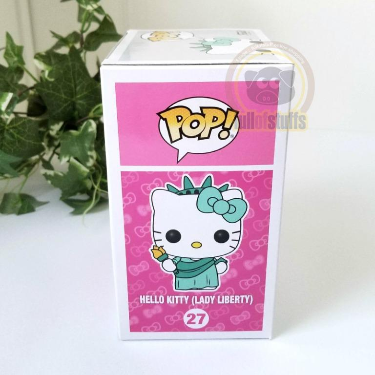 BNIB Funko Pop 27 Hello Kitty Lady Liberty Limited Edition Figure