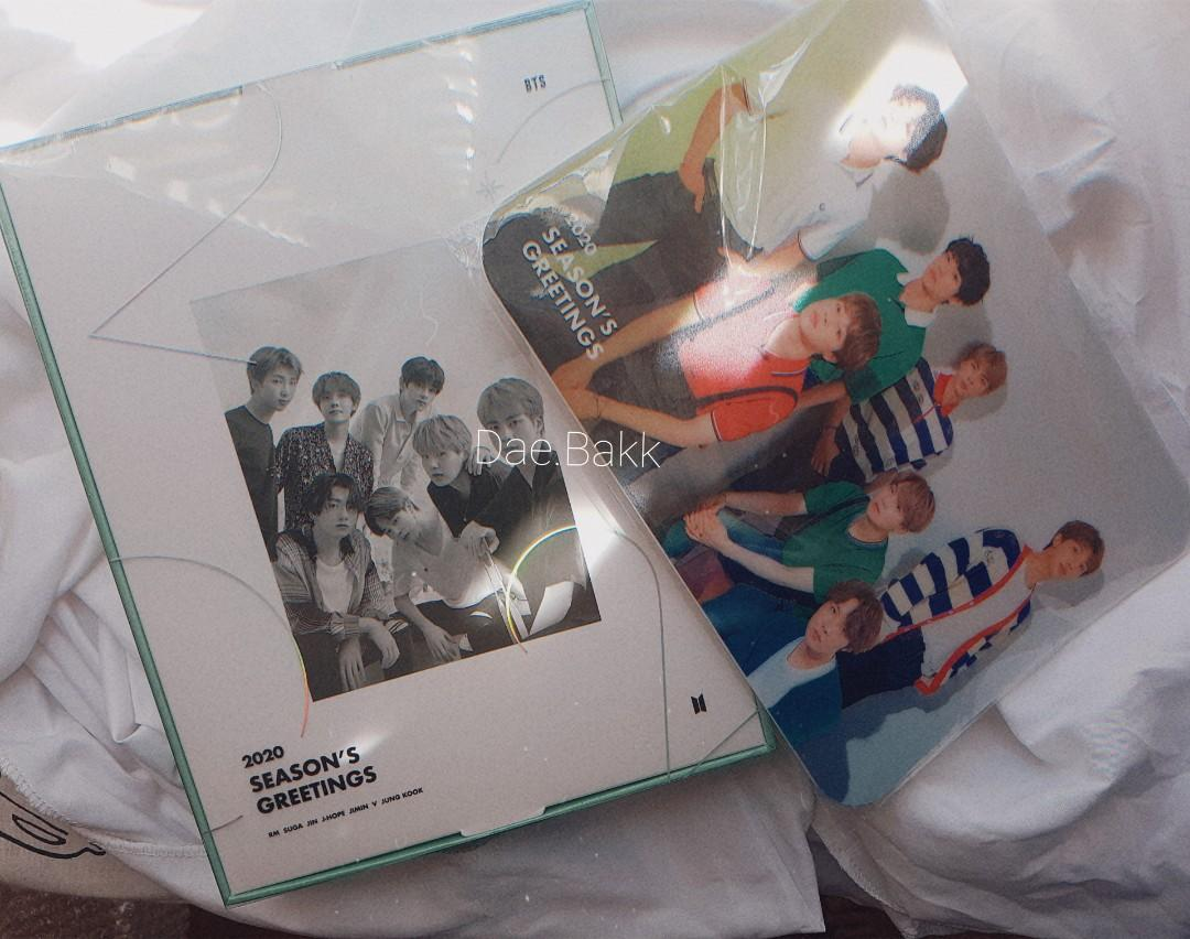 BTS 2020 Season Greeting DVD + Mouse Pad (LEFT ONE !!)