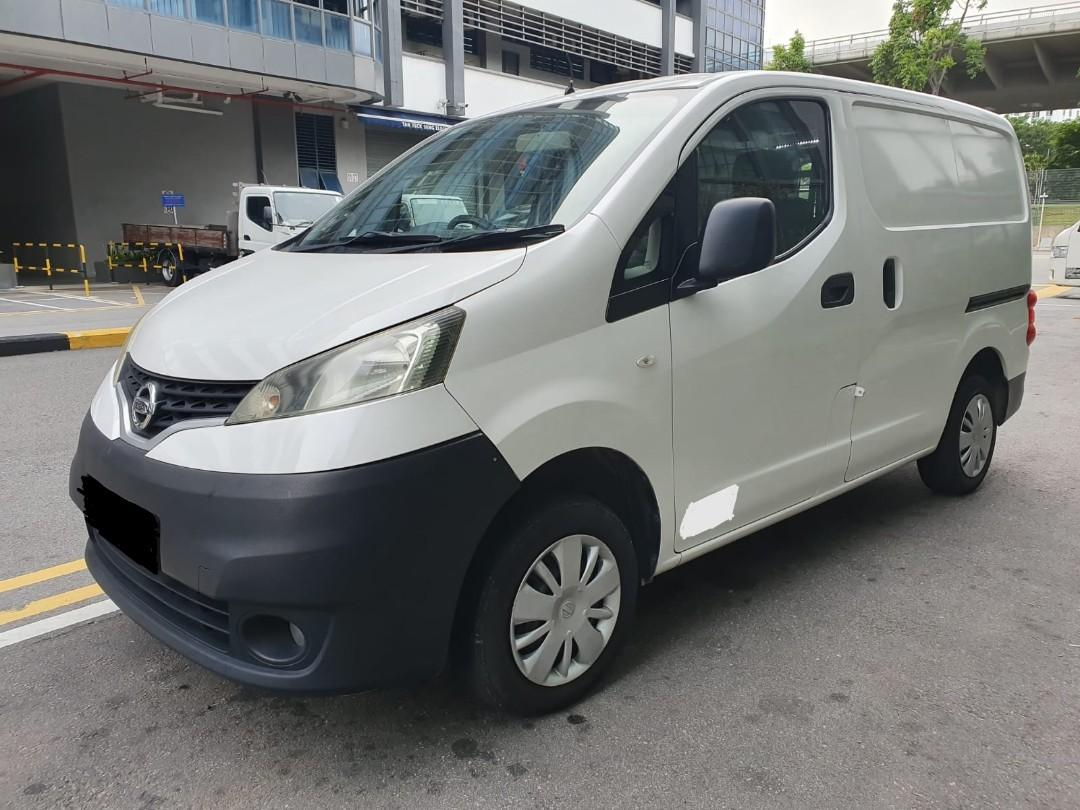 CHEAP NV200 VAN FOR 1 YEAR RENTAL @ $1,050 MONTHLY!! CALL 9299 4404 NOW !!