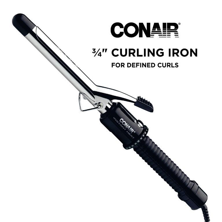 Conair Infiniti Professional Tourmaline Ceramic 3/4'' Hair Curling Iron