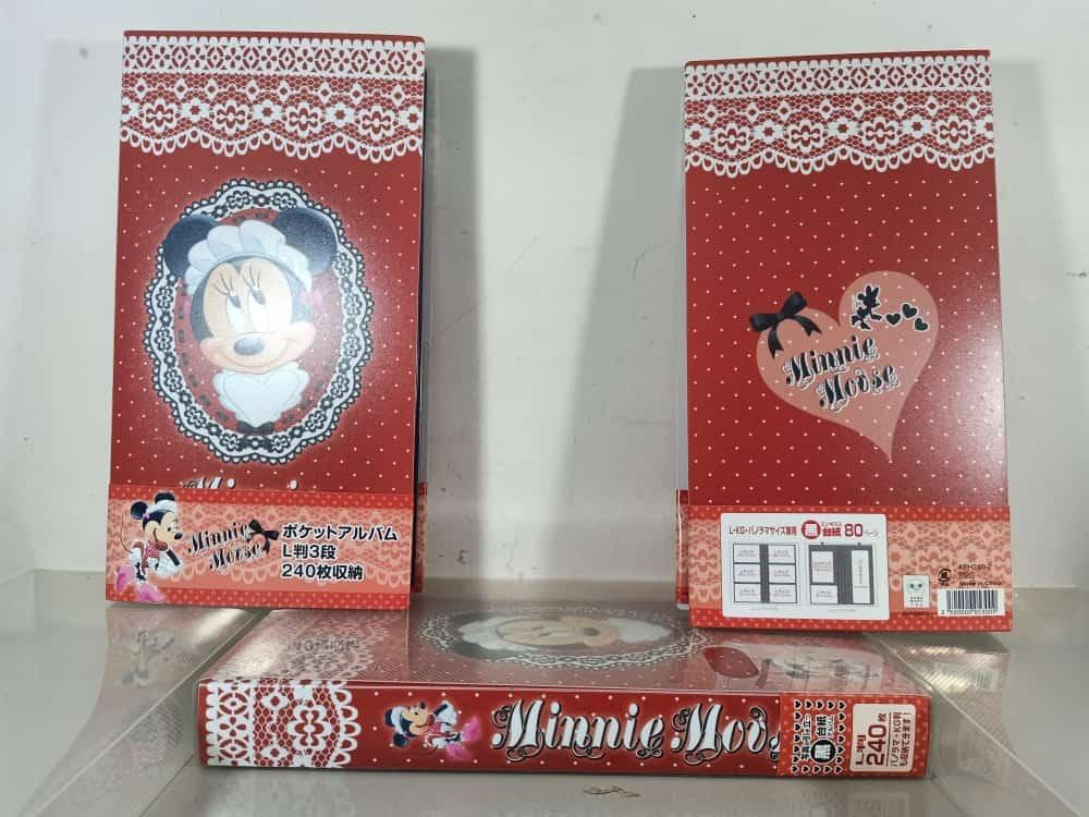 Disney Minnie and Pooh 3r and 4r photo album fits 240 pictures
