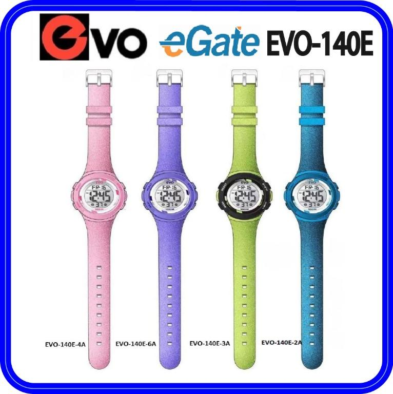 EVO-140E Unisex & Kids Digital Sporty Design YOUTH Series Classic Resin Band Original Watch