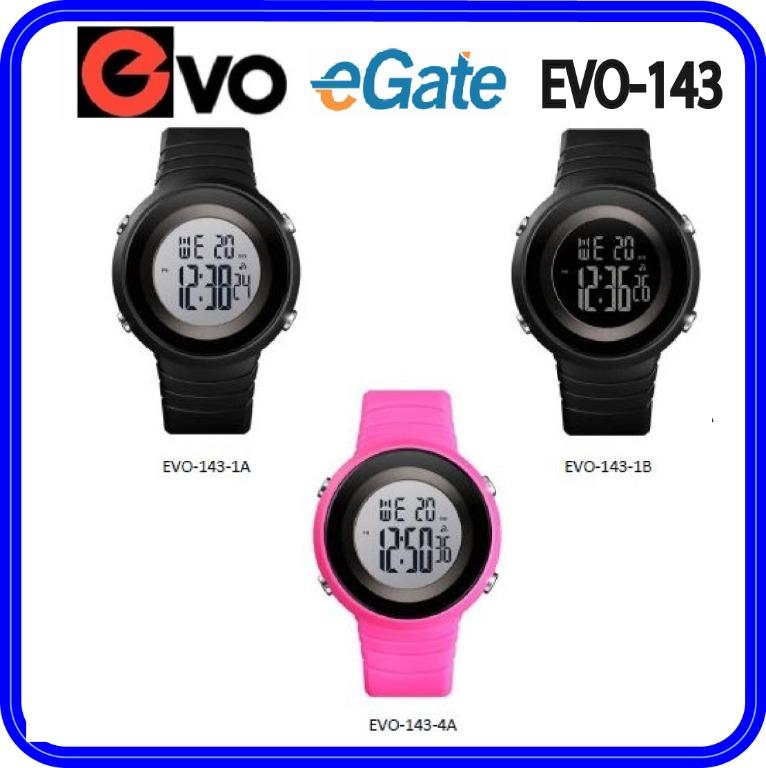 EVO-143 Unisex & Kids Digital Sporty YOUTH Design Classic Resin Band Original Watch