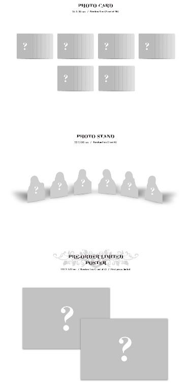 [GO] DREAMCATCHER 1st Album [Dystopia:The Tree of Language]   [Random 2 out of 6 MMT EXCLUSIVE PHOTO CARD]