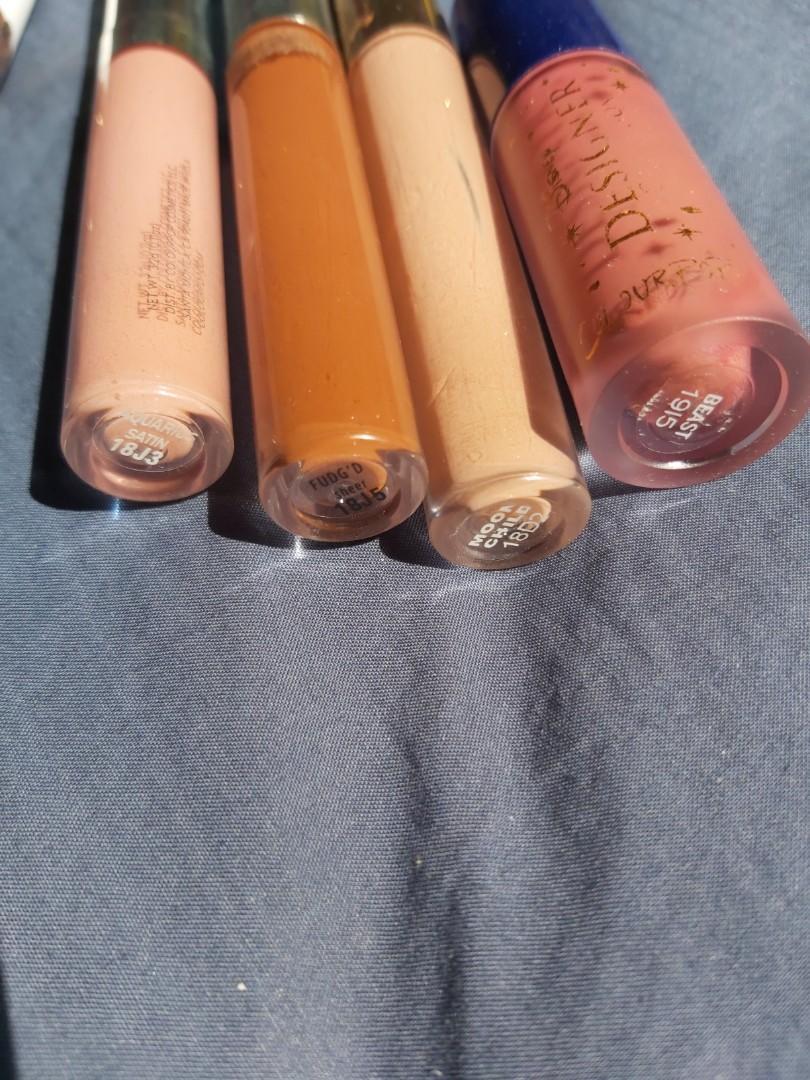 Huge colourpop declutter! Lipsticks, super shock shadows