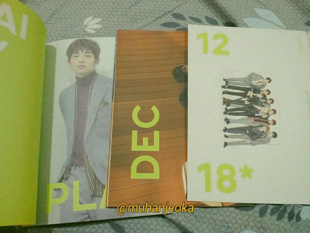 NCT 127 2018 SEASON GREETINGS (Poster, Monthly Planner, Photocard)