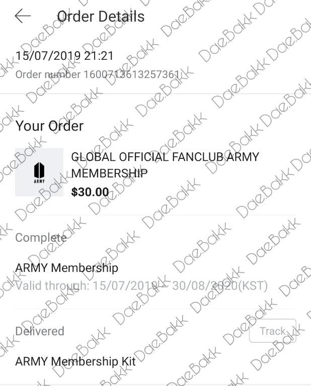 [NON-PROFIT] Global Official Army Membership Fanclub
