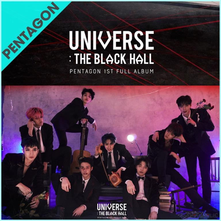 PENTAGON - 1st Album ' UNIVERSE : THE BLACK HALL '