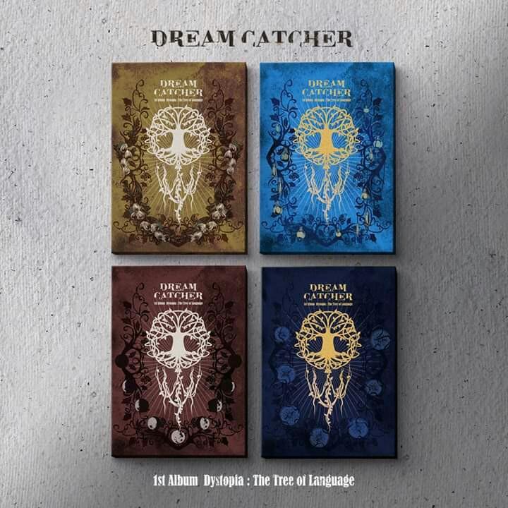 [PO] DREAM CATCHER 1st Album - Dystopia : The Tree Of Language