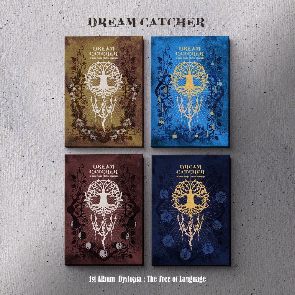 [PREORDER] Dreamcatcher 1st Full Album [Dystopia : The Tree of Language ]