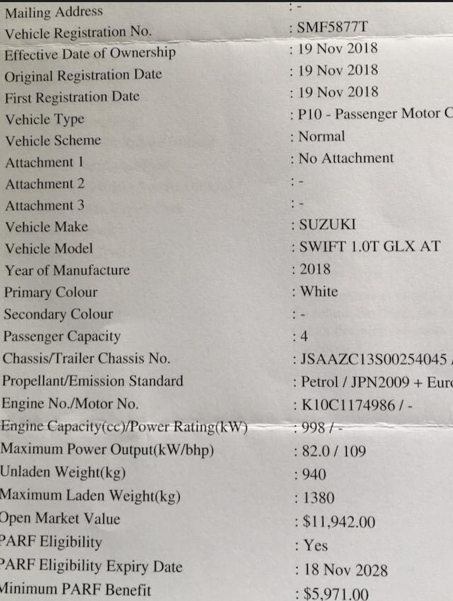 Suzuki Swift 1.0A, Bosterjet Auto
