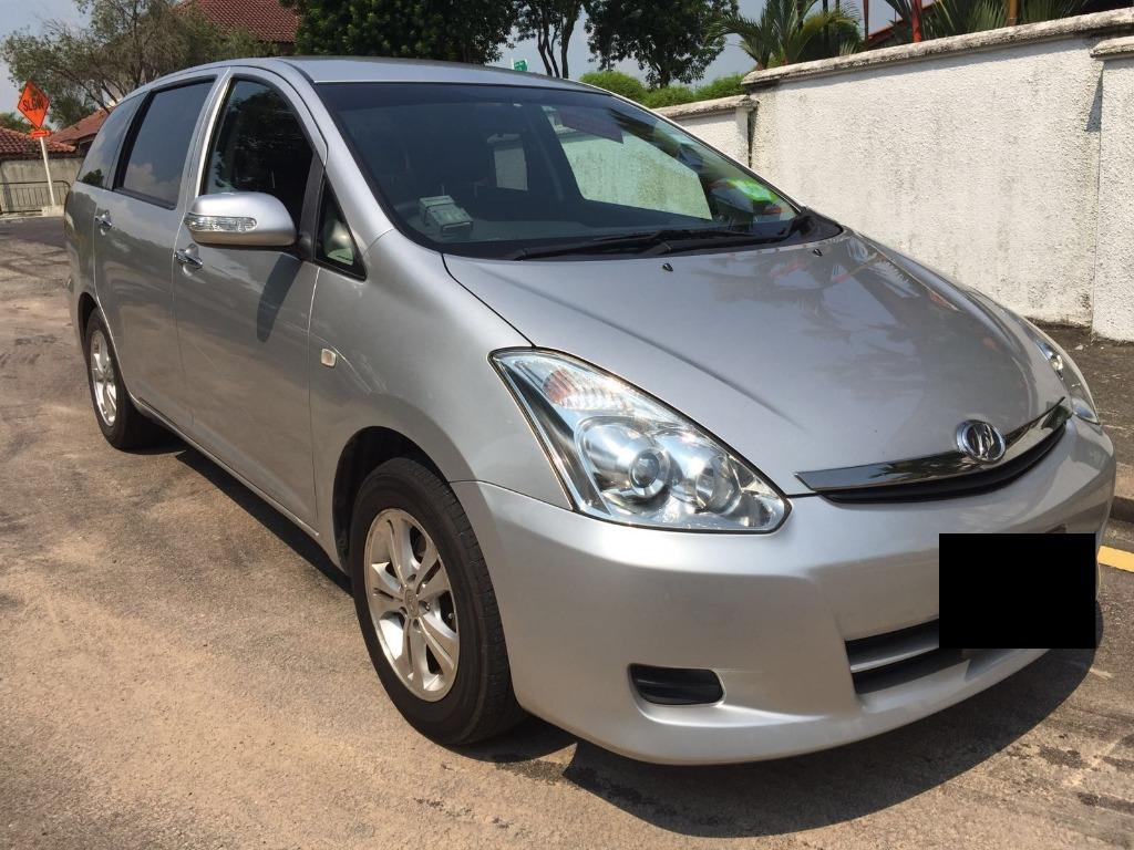 TOYOTA WISH FOR GRAB OR PERSONAL