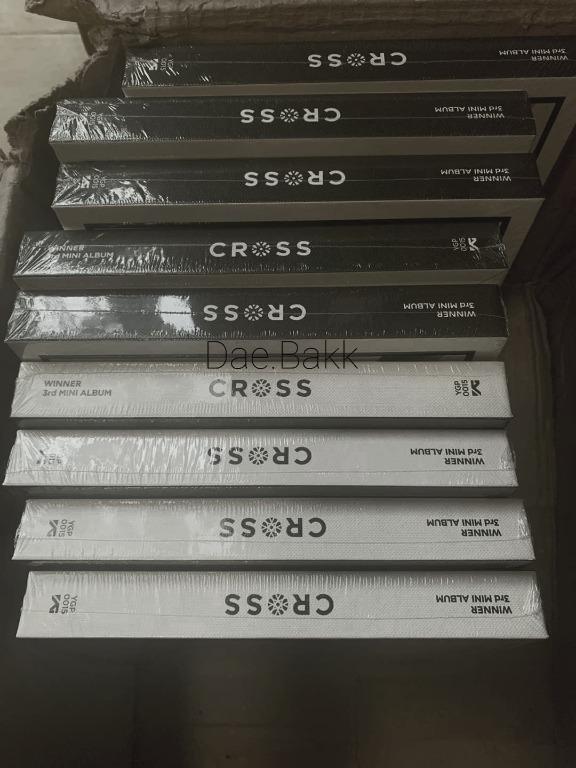 Winner Cross Mini Album - Cross Light / Road Version