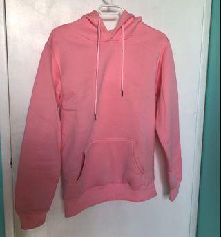 Pink Basic Hoodie