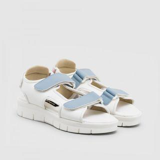 Adorable Project Kenzy Colorblock Sandal