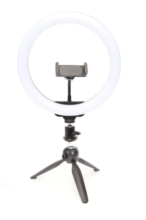 "10"" LED Diva Ring Light Kit w/ Mini Tripod / BRAND NEW / USB powered / photovideospot.ca"