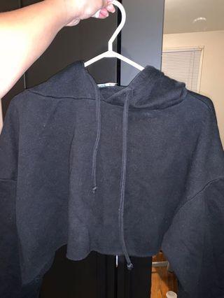 ZARA cropped hoodie