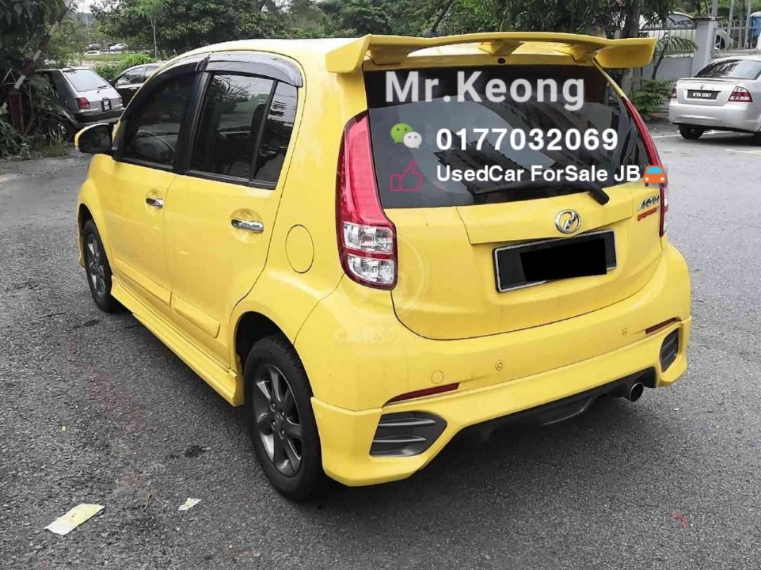 2012TH PERODUA MYVI EXTREME 1.5AT Full Package Cash OfferPrice💲Rm30,800 Only🚨 ‼LowestPrice InJB‼Call📲KeongForMore🤗