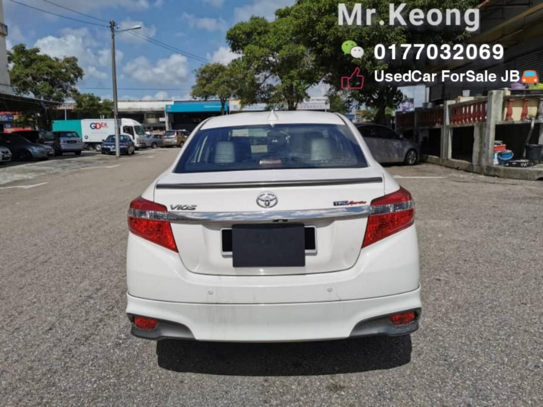 2014TH🚘TOYOTA VIOS 1.5AT TRD Full Spec Cash OfferPrice Rm53,800 Only!! Blacklist/Name Masalah Can Loan‼LowestPrice InJB‼Muka Rm4-5K Confirm Lulus🎉Bulanan Rm660 Only!! Call📲 KeongForMore🤗