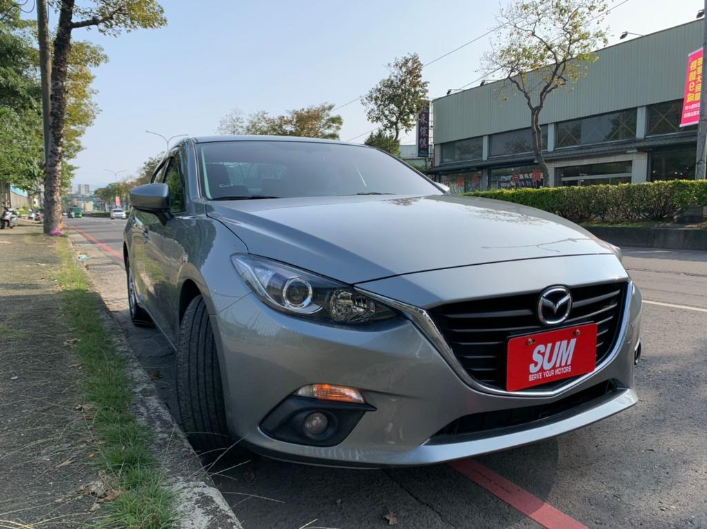 正2016年 新款魂動 Mazda 3 2.0S 尊榮型 頂級免鑰匙