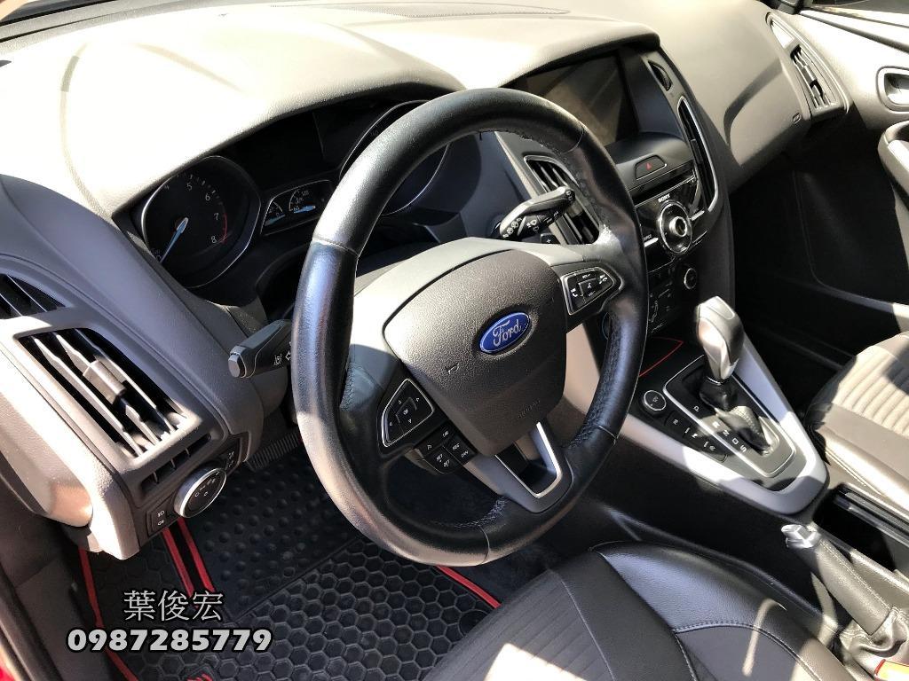 福特原廠認證中古車2017年Ford Focus 1.5s五門運動頂級 原廠認證新車保固中