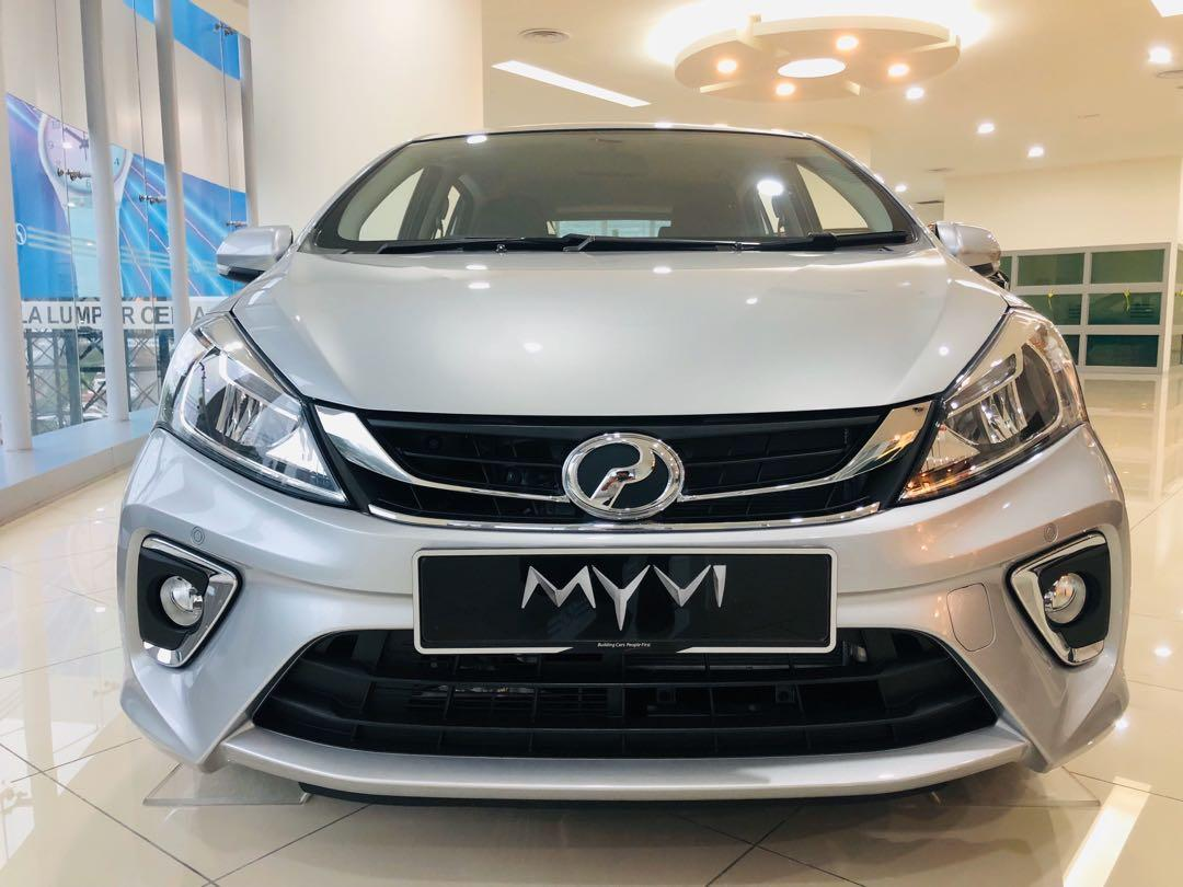 2020 Perodua Myvi 1.3 X (A) Glittering Silver Maximum Loan
