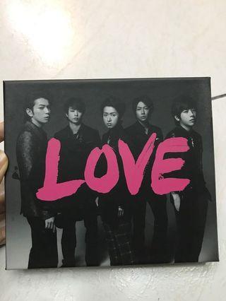 嵐-LOVE+DVD