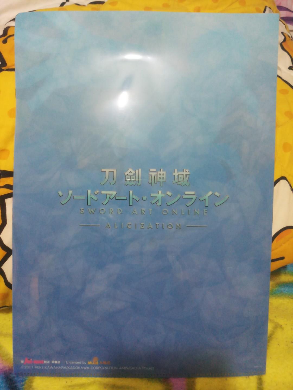 刀劍神域 文件夾 file 桐人 尤吉歐 愛麗絲