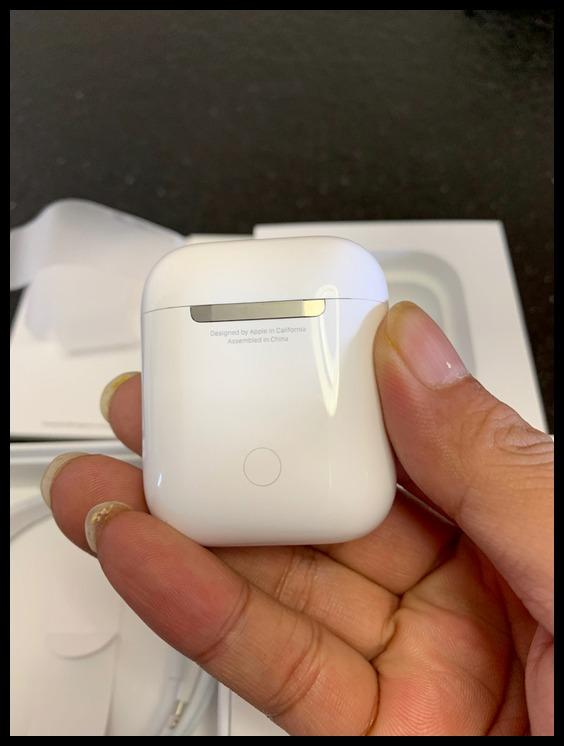 Authentic airpods 2 generation airpods pro national bank unpacking