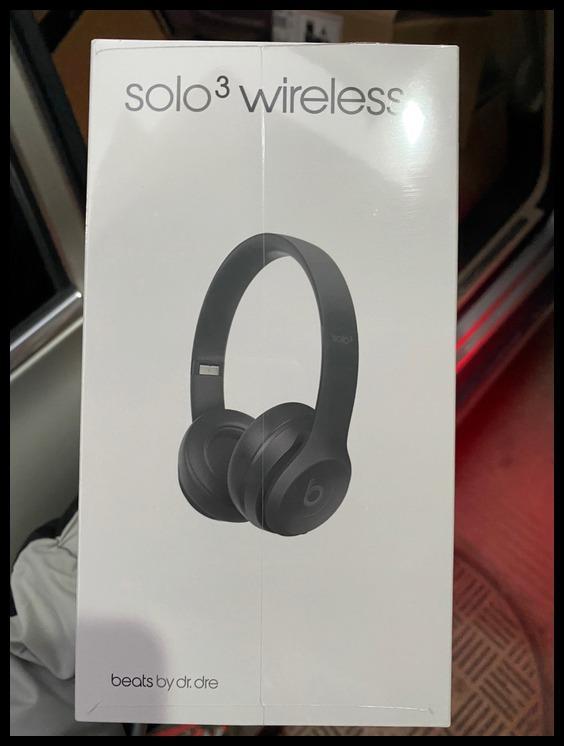 beats solo3 joint asphalt gray headset Bluetooth II
