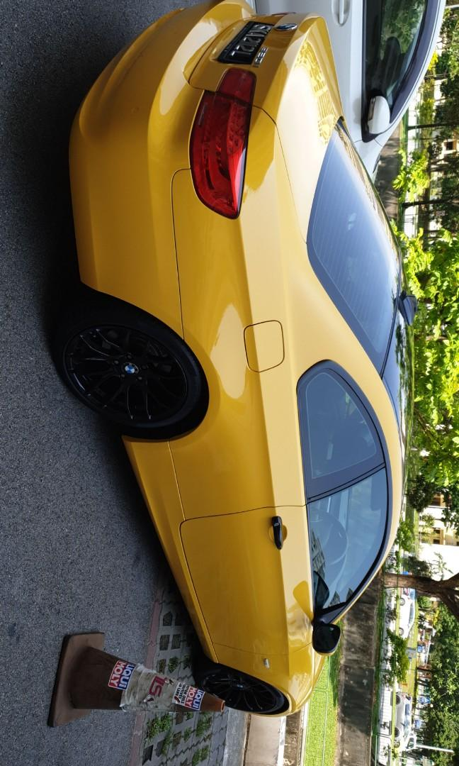 BMW 320i 2 Doors Coupe for Rental