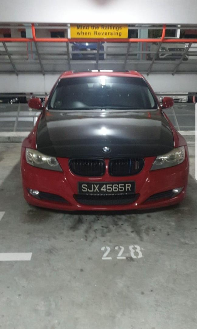 BMW 3 series for rent with sunroof