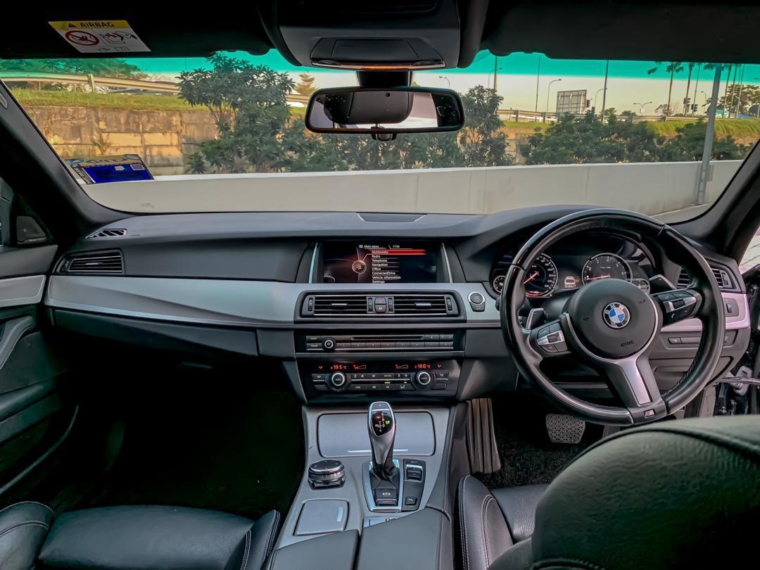 BMW F10 528i 2.0CC TWIN POWER TURBO LCI  AUTOBAVARIA LOCAL SPEC M-SPORT SAMBUNG BAYAR /CONTINUE LOAN