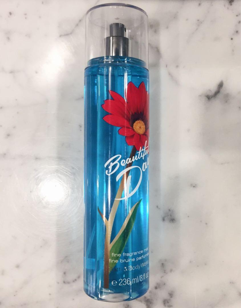 "BRAND NEW bath & body works ""beautiful day"" perfume 🦋"