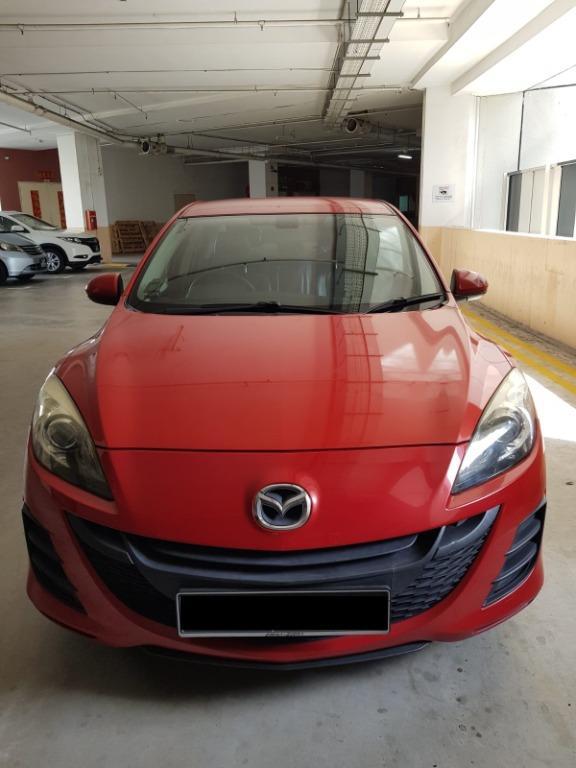 Car Rental Mazda3 3-6 Apr Fri-Mon Weekend Package P Plate Welcome ( Yishun )