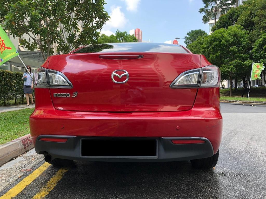 CAR RENTAL MAZDA MAZDA3 FRI-MON WEEKEND PACAKGE 3 - 6 APRIL P PLATE FRIENDLY ( Sembawang )