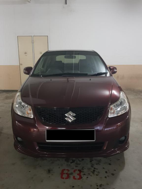 Car Rental Suzuki Sx4 Sedan Weekend Fri-Mon Package 3-6 April P Plate Welcome ( Yishun )