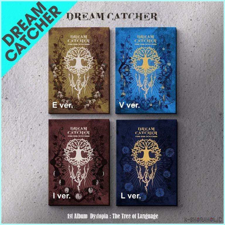 DREAM CATCHER - 1st Album ' DYSTOPIA : THE TREE OF LANGUAGE '