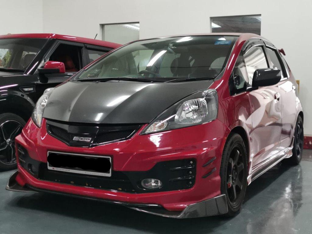 HONDA FIT 1.3G A for rent