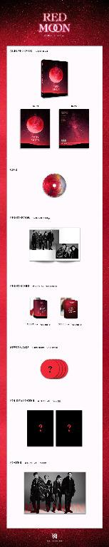 KARD - 4th Mini Album - RED MOON  - PREORDER/NORMAL ORDER/GROUP ORDER/ALBUM GO + FREE GIFT BIAS PHOTOCARDS (1 ALBUM GET 1 SET PC, 1 SET GET 9 PC)