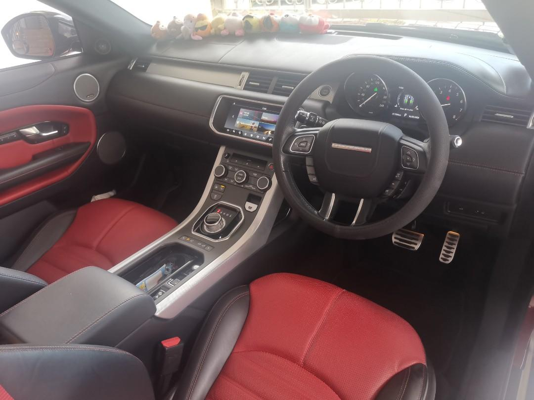 Land Rover Range Rover Evoque 2.0 Convertible HSE Dynamic (A)