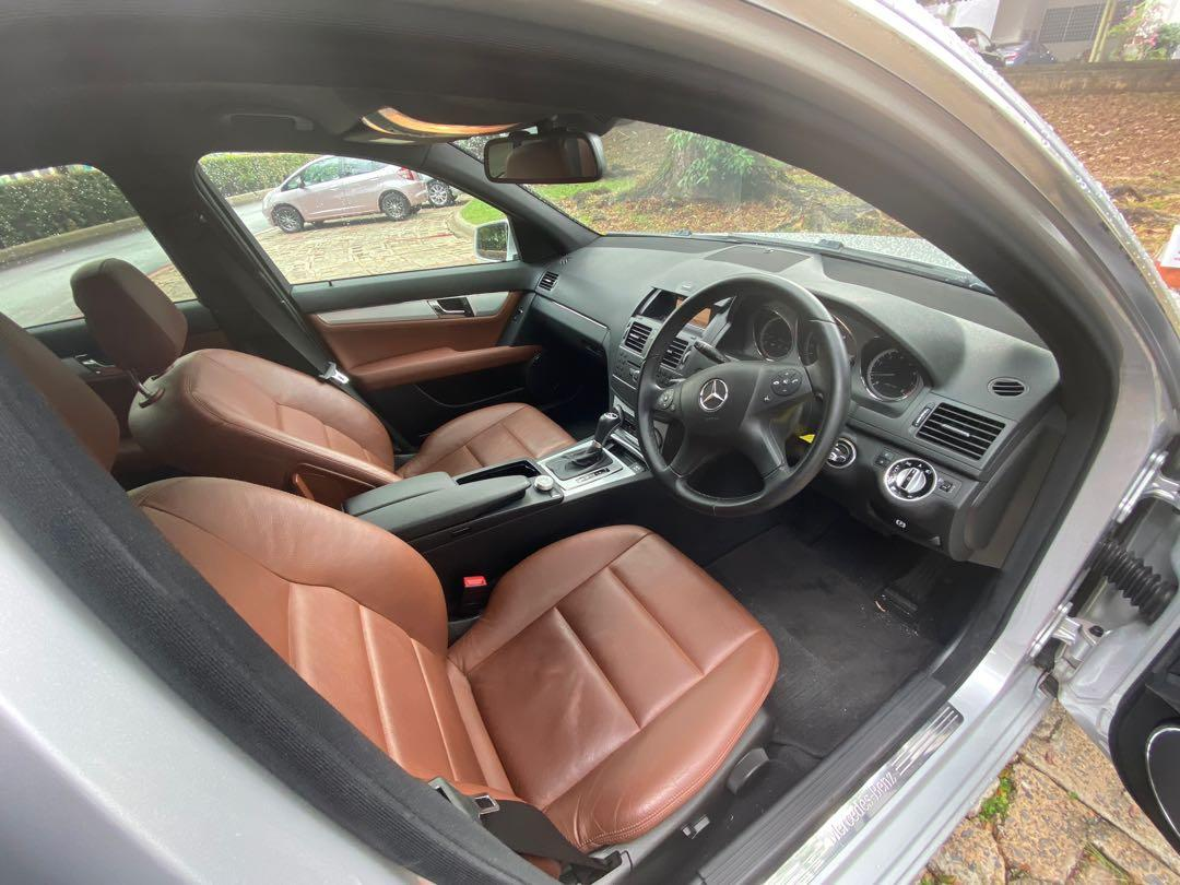 Mercedes-Benz C180K for rent
