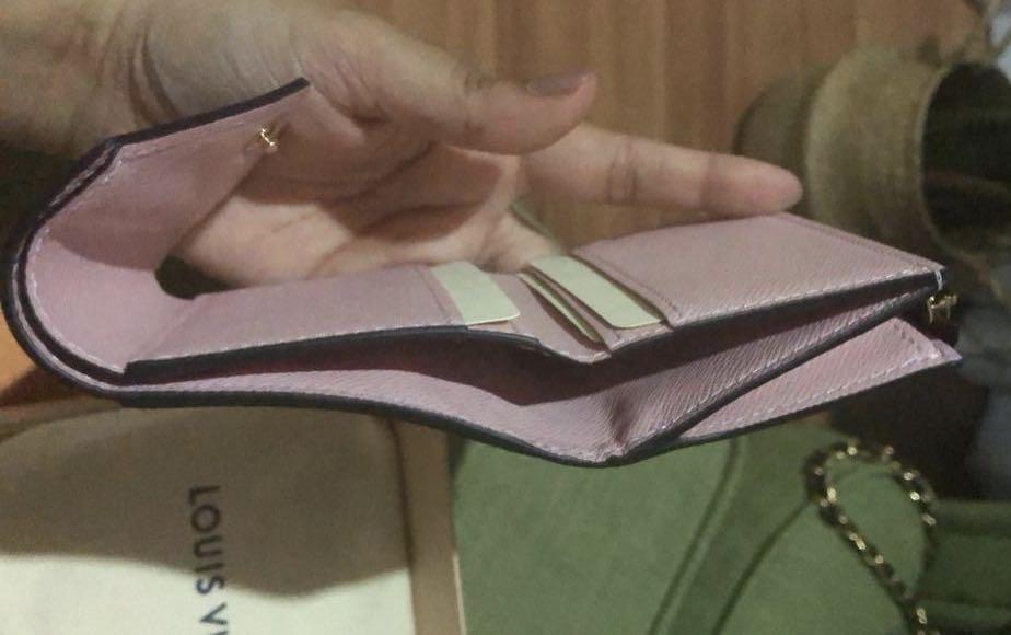 ❗️NEW❗️AUTHENTIC LV LOUIS VUITTON Monogram Zoe Short Compact Wallet Purse✅Receipt