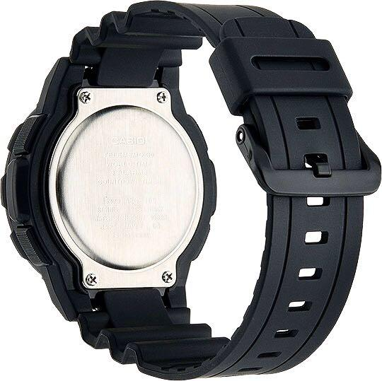 NEW🌟CASIO DIVER UNISEX SPORTS WATCH : 100% ORIGINAL AUTHENTIC : By BABY-G-SHOCK ( GSHOCK ) COMPANY : AEQ-100W-1BVUDF (STEALTH FULL BLACK)
