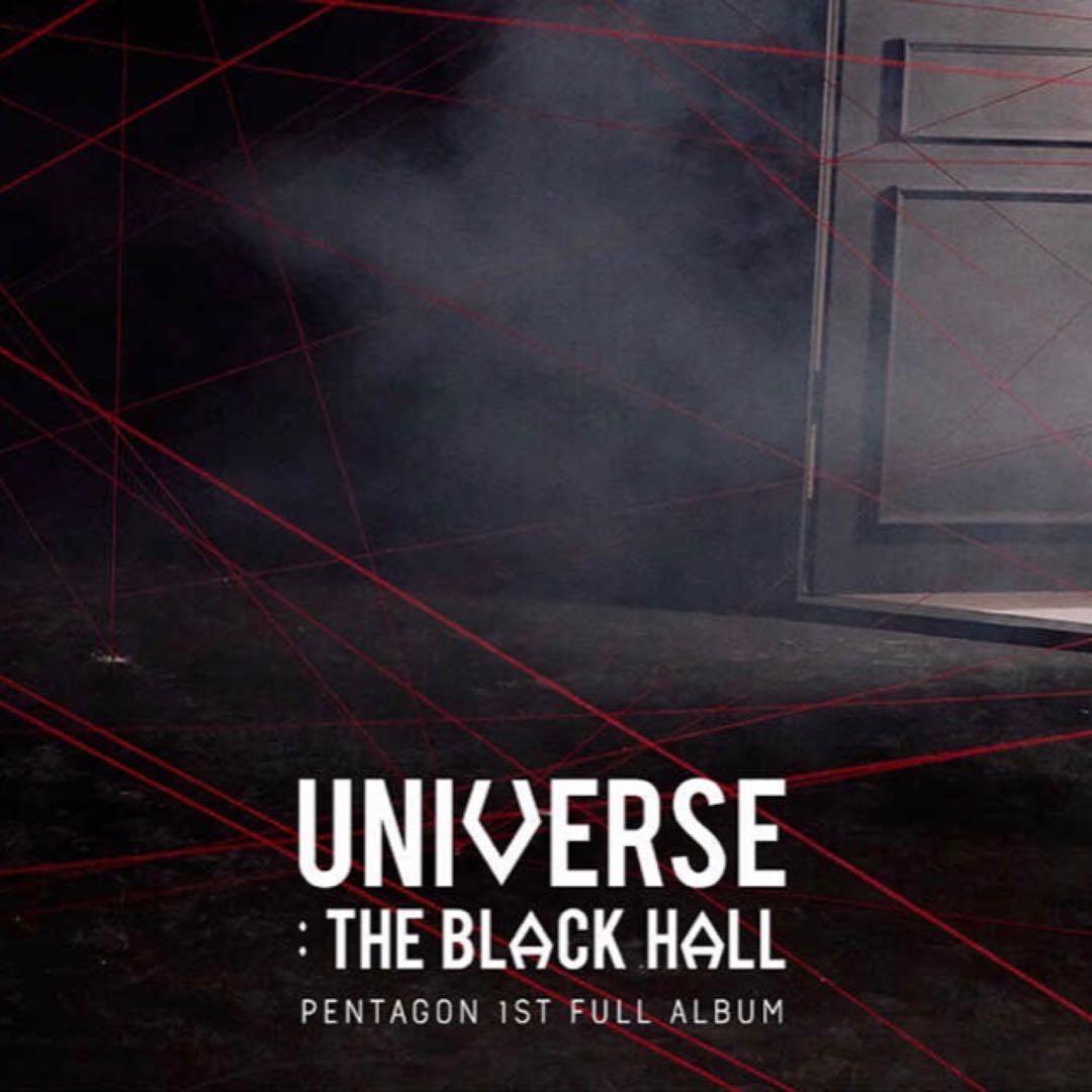 [PO] Pentagon - Universe : The Black Hall (The 1st Full Album)