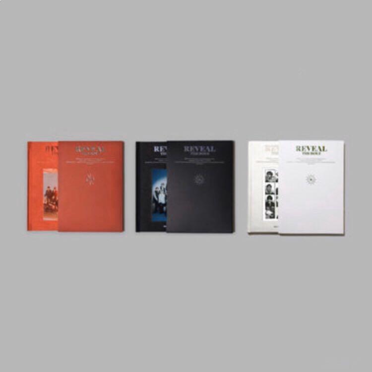 [PO] The Boyz - Reveal (The 1st Album) (Regular ver.)